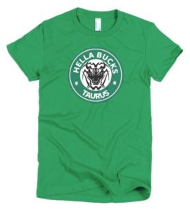 Hella Bucks short sleeve women's t-shirt