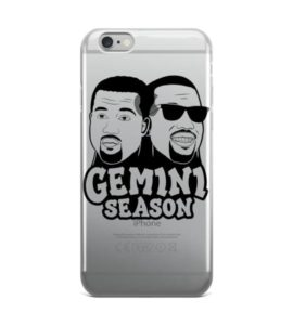 Kanye Gemini Season iPhone case