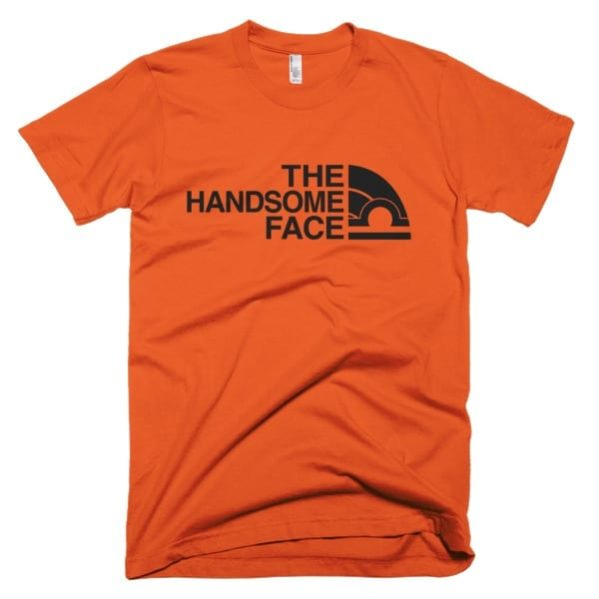 Libra Men's T-shirt Orange