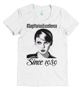 Taylor Swift Sagittarius Excellence short sleeve t-shirt