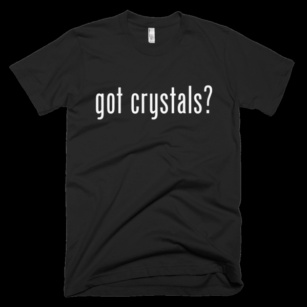 Crystals T-shirt Black