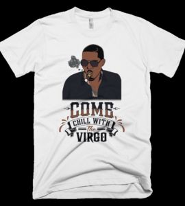 Nas Virgo T-shirt White