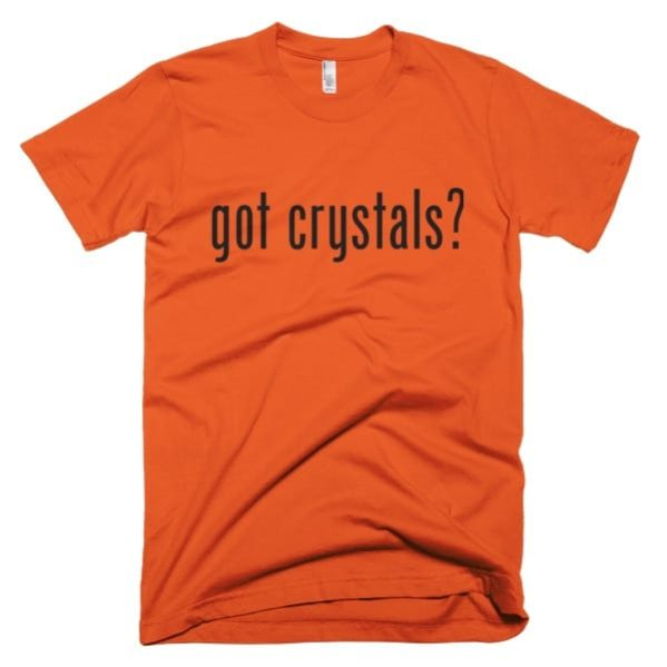 Crystals T-shirt Orange