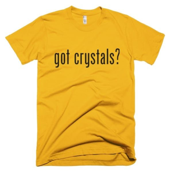 Crystals T-shirt Yellow